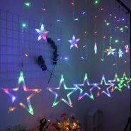 ریسه ستاره ستاره چند رنگ