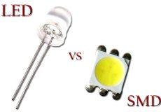 تفاوت لامپ ال ای دی و اس ام دی